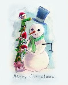 elves_snowman