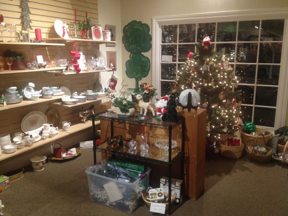 Christmas at the Echo Shop